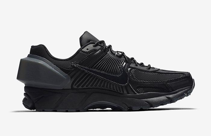 ACW Nike Zoom Vomero +5 Black Silver AT3152-001 02