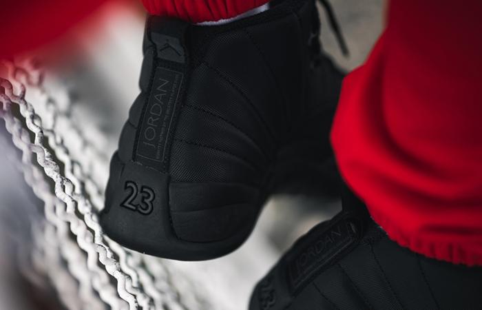 best cheap 4de8a 64fbb Air Jordan 12 Black Triple Black BQ6851-001