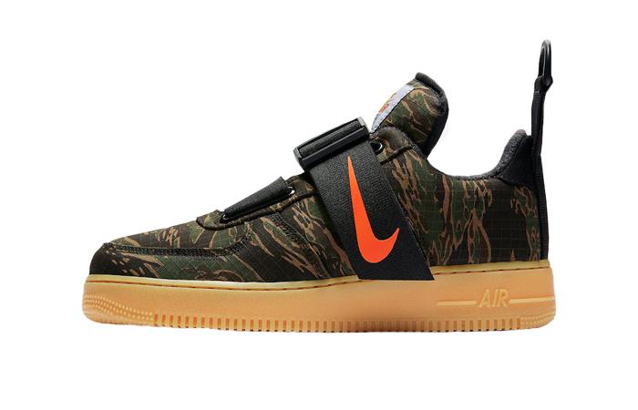 Carhartt Nike Air Force 1 Low Utility Camo Green 01