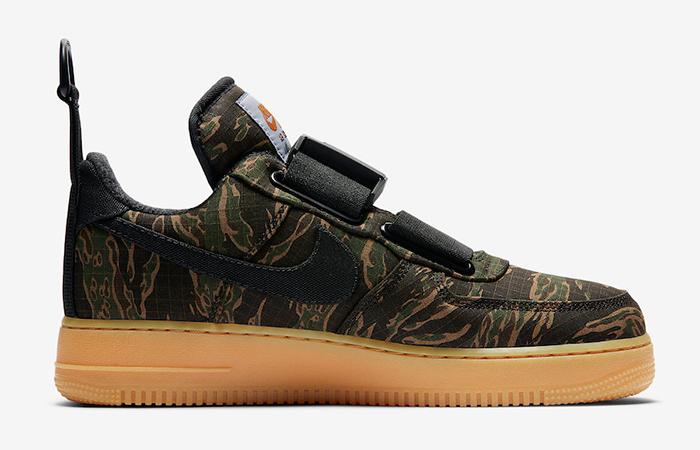 Carhartt Nike Air Force 1 Low Utility Camo Green 02