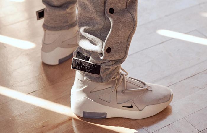 innovative design b8fe4 a61c2 Nike Air Fear Of God 1 Light Bone Black AR4237-002 01  Nike Air Fear Of God  Black AR4237-002 ...