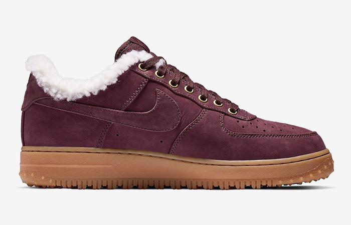 Nike Air Force 1 Premium Winter Burgundy AV2874 600