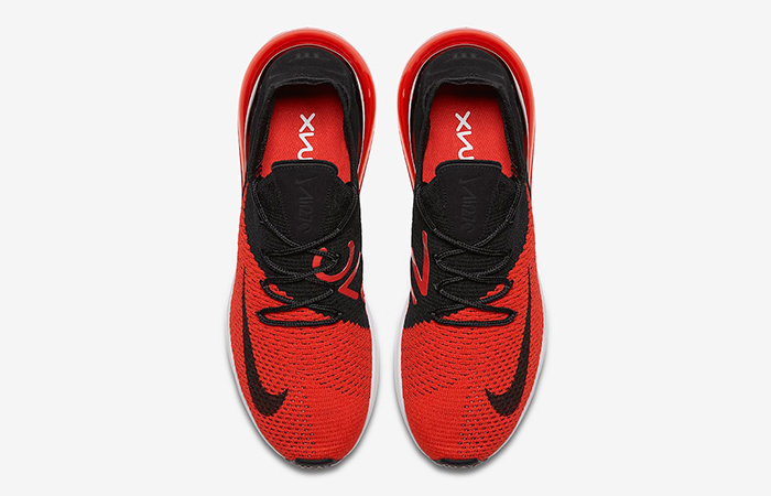 46b1bb27a4abe Nike Air Max 270 Flyknit Red Black AO1023-601 – Fastsole