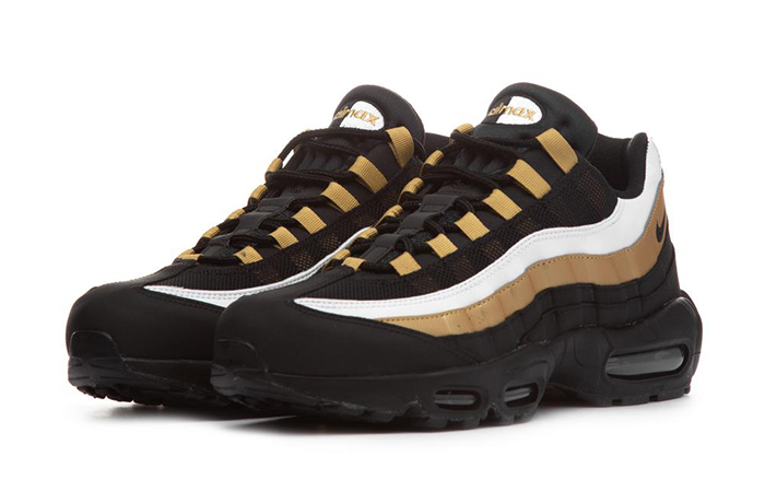 newest 068e9 01ac7 Nike Air Max 95 Black Gold AT2865-002