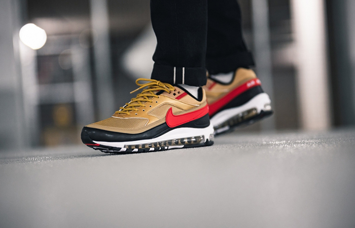 new style a4a24 a06ee Nike Air Max 97 BW Metallic Gold AO2406-700
