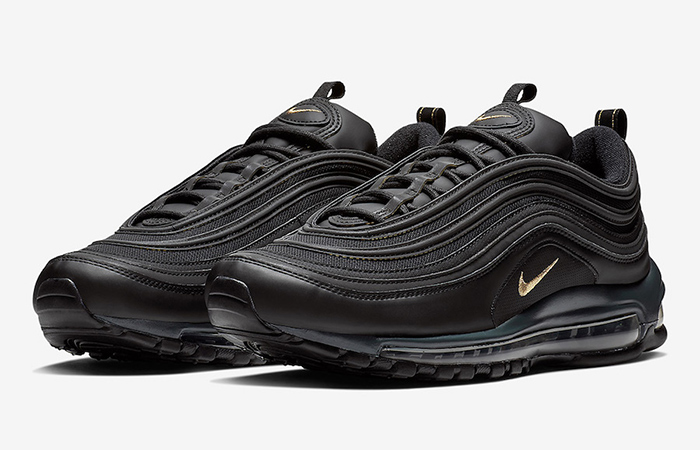 Nike Air Max 97 Black Gold Footlocker Exclusive BQ4580 001