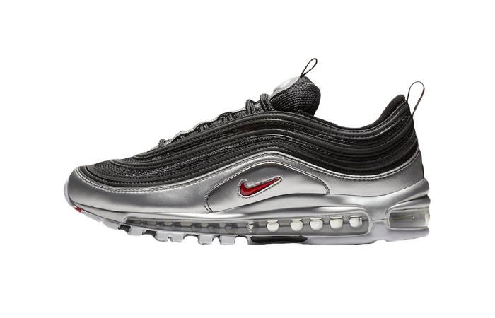 2599d394a06 Nike Air Max 97 QS Metallic Silver Black AT5458-001