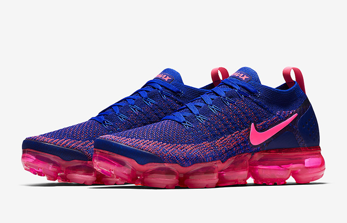 2dbb1ce2c2044 Nike Air VaporMax Flyknit 2.0 Racer Blue Pink 942843-601 – Fastsole