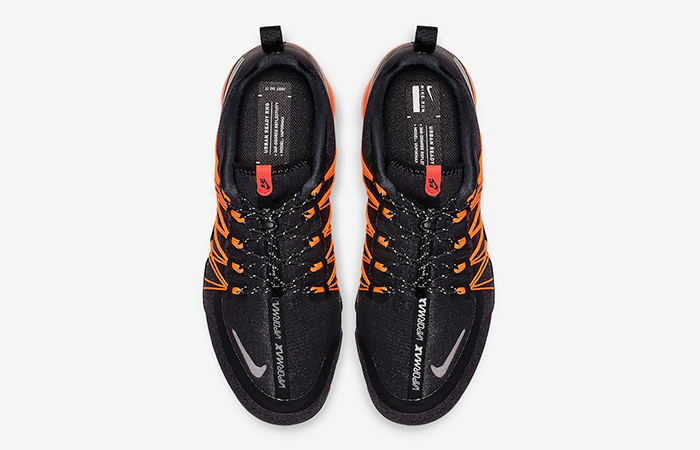 release date: a0755 478b2 Nike Air VaporMax Utility Black Orange AQ8810-005
