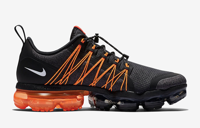 release date: 4894b a50ae Nike Air VaporMax Utility Black Orange AQ8810-005