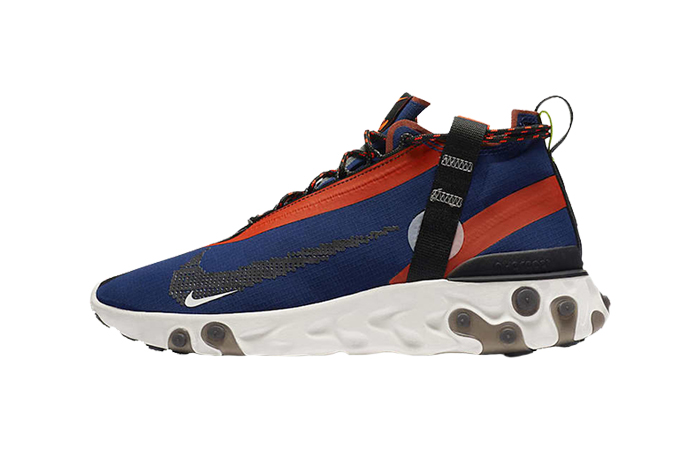 Nike React SP Mid ISPA Navy Red AT3143-400 01