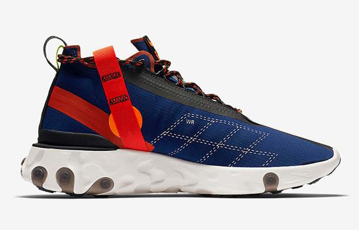 Nike React SP Mid ISPA Navy Red AT3143-400 02