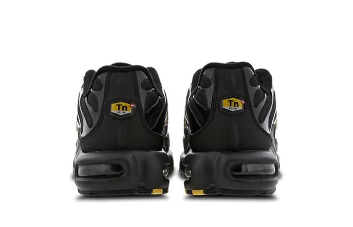 on sale 6ae9c 2dd2d Nike TN Air Max Plus Black Metallic Gold Footlocker Exclusive BQ3169-002
