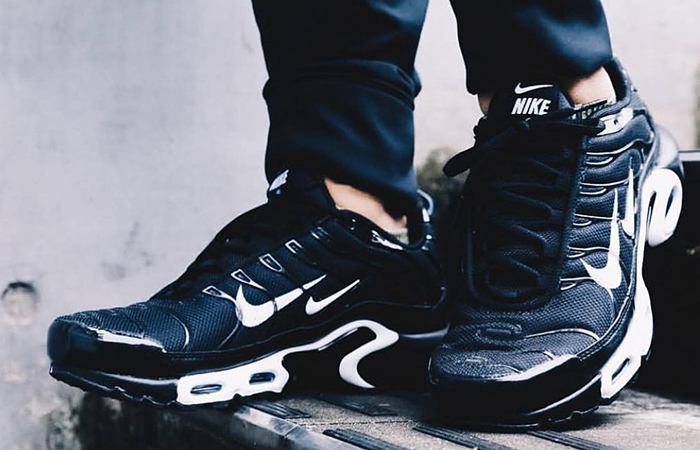 the latest 0a351 55b51 Nike TN Air Max Plus Overbranding Black 815994-004