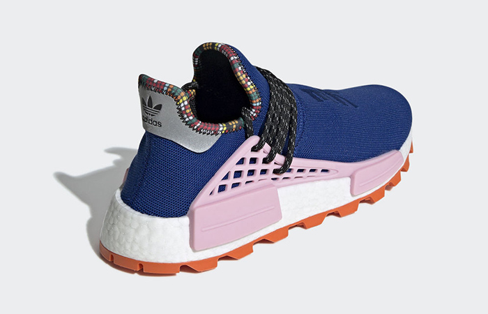 Pharrell Williams adidas NMD Hu Inspiration Blue Pink EE7579