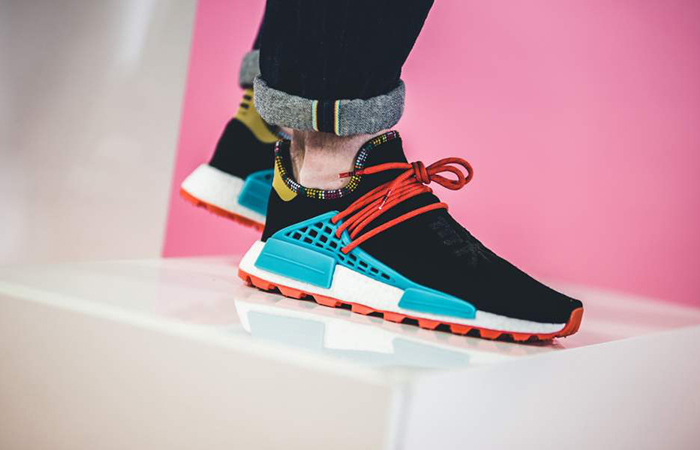 b60e000392244 Pharrell Williams adidas NMD Hu Inspiration Pack Black EE7582 – Fastsole