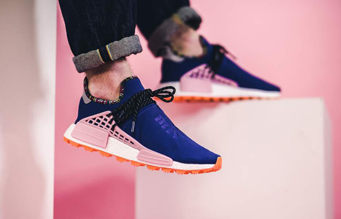 Pharrell Williams adidas NMD Hu Inspiration Pack Blue Pink EE7579 02