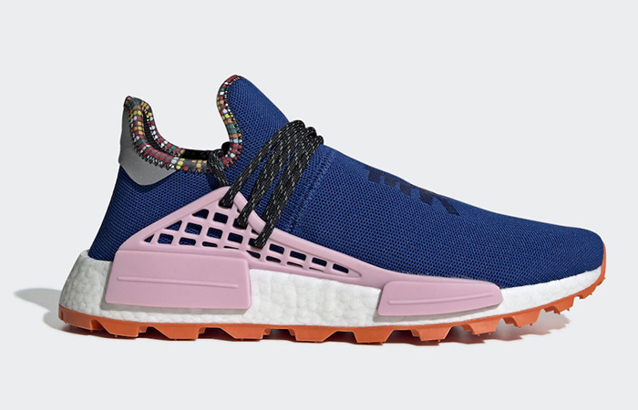 Pharrell Williams adidas NMD Hu Inspiration Pack Pink EE7579