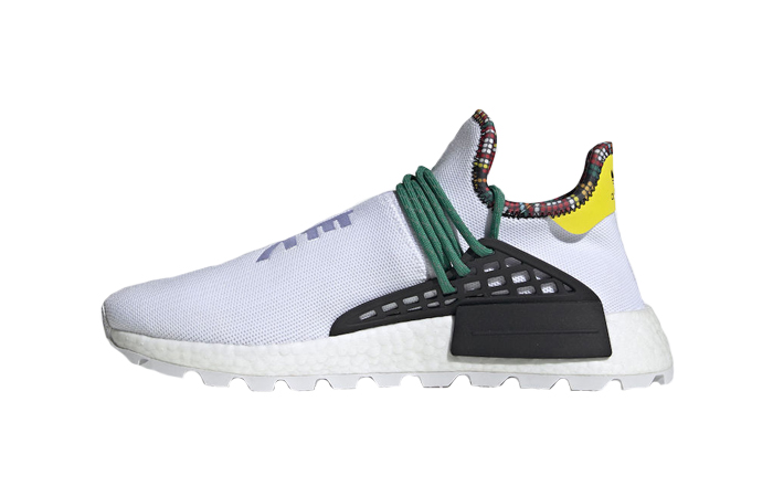 watch 804a3 80bb7 Pharrell Williams adidas NMD Hu Inspiration Pack White EE7583