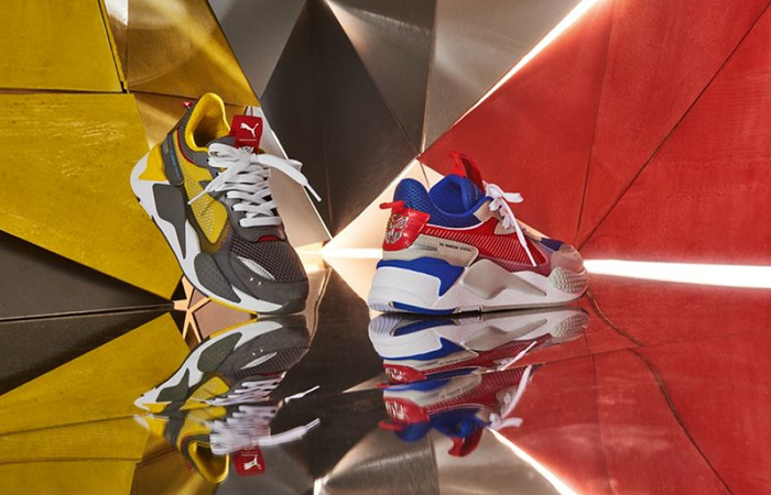 Relive The Action With The Hasbro PUMA Transformers Collection ft