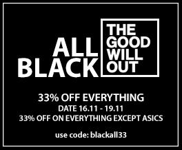 TGWO Black Friday Sneaker Sale 2018