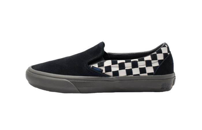 Vans TH Slip-On LX Black White VN0A3ZCNURB1 01