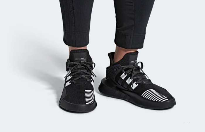 official photos 99220 7266e adidas EQT Bask ADV Black White BD7773