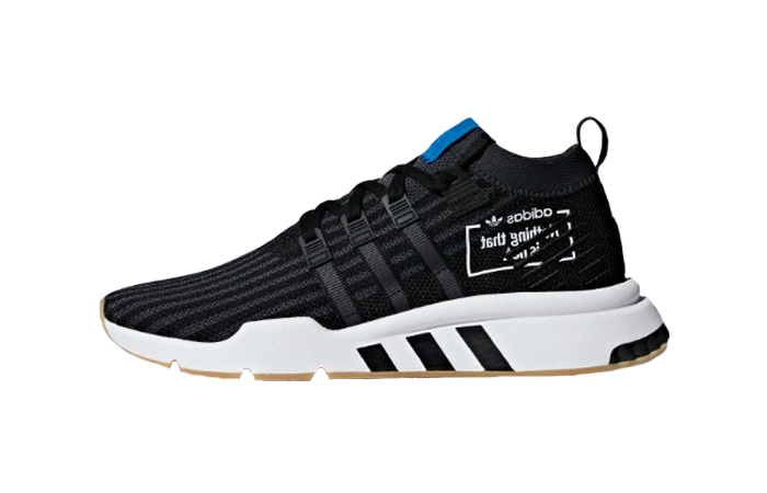 best sneakers fd576 26cfb adidas EQT Support Mid ADV Black Blue B37413