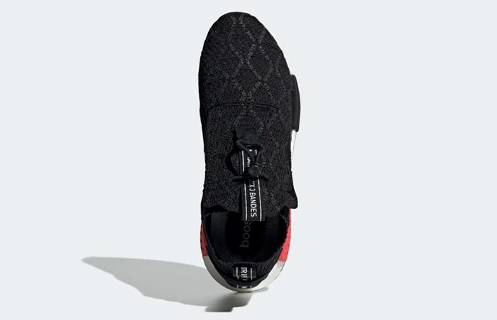 adidas NMD TS1 Racer Primeknit Black Red BD8078