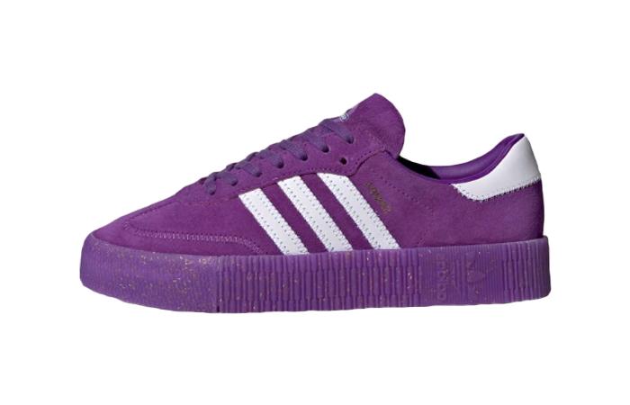 adidas Sambarose Purple Womens EE7275