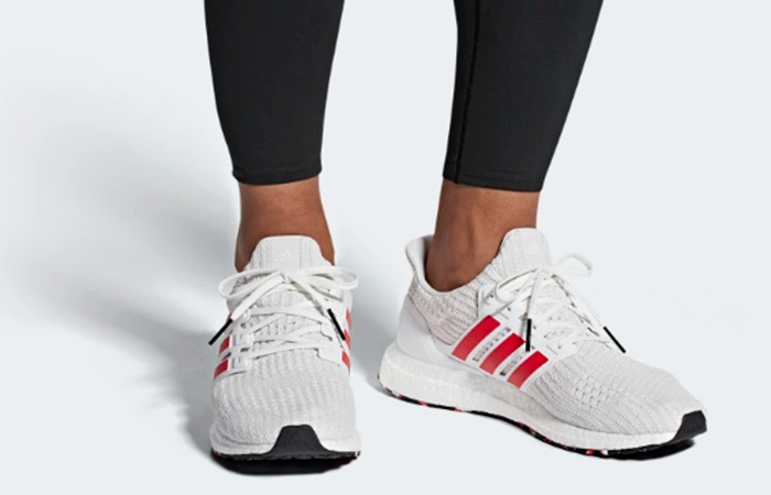 7702403b975 adidas UltraBOOST White Red DB3199 01  adidas Ultra White Red DB3199 ...