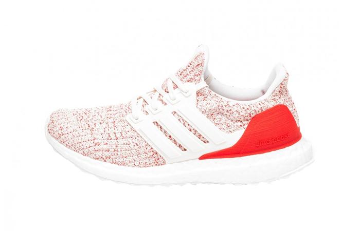 cb4062e40f21b adidas UltraBOOST Chalk White Red Womens DB3209 – Fastsole