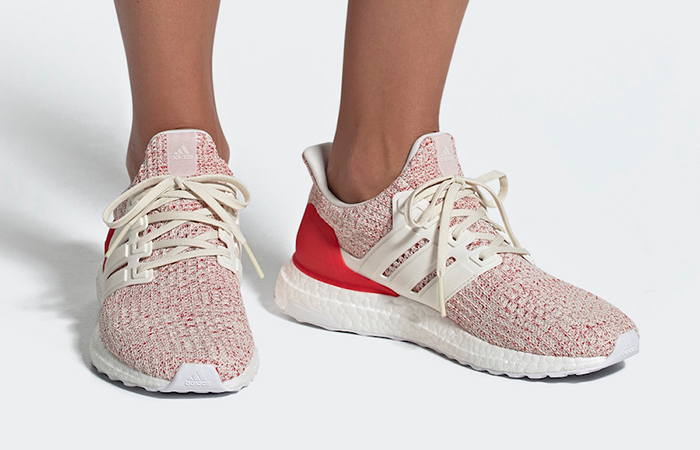 06e8b8bc31f adidas UltraBOOST Chalk White Red Womens DB3209 – Fastsole