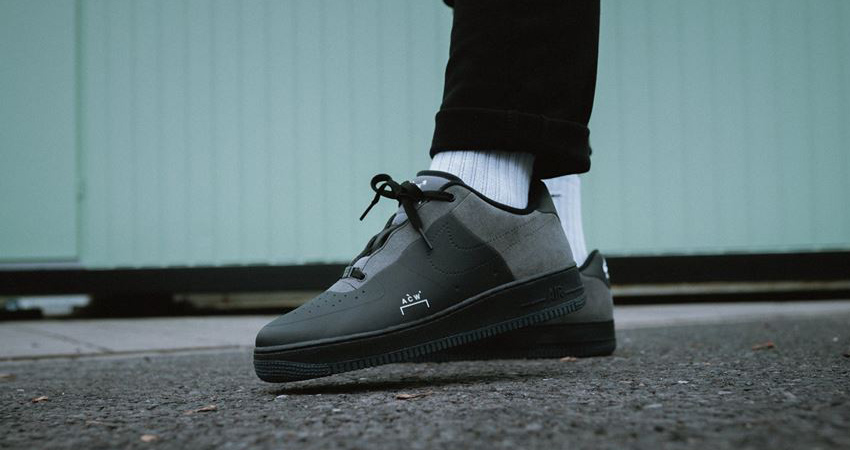 competitive price d83af be9e9 A-Cold-Wall x Nike Air Force 1 Low Mono Pack Release Date ...