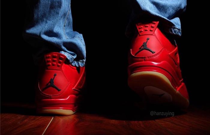 Air Jordan 4 Singles Day Red AV3914-600