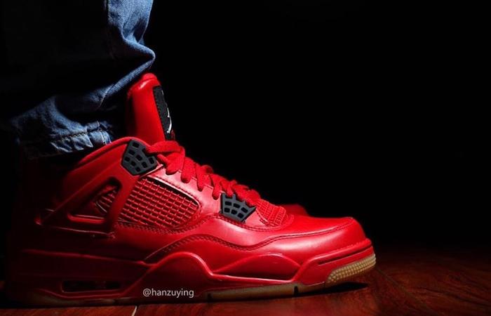 Air Jordan 4 Singles Day Red Womens AV3914-600 02