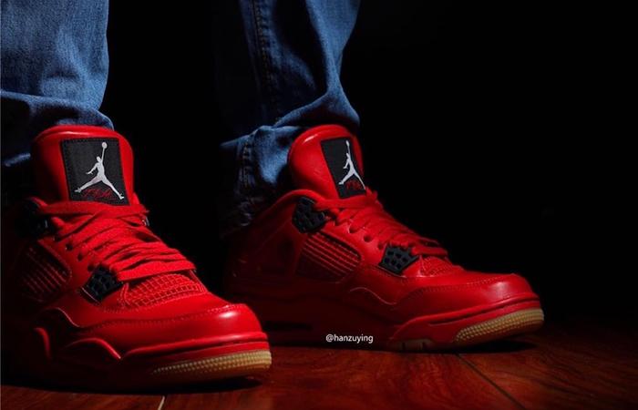 Air Jordan 4 Singles Day Red Womens AV3914-600 03