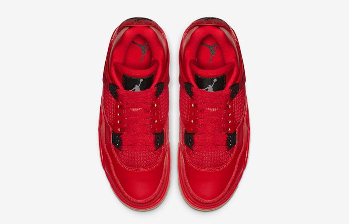 Air Jordan 4 Singles Red Womens AV3914-600