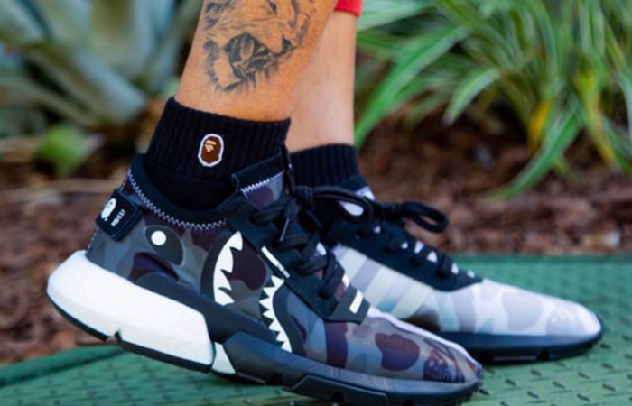 BAPE x NEIGHBORHOOD x adidas POD-S3.1 & NMD STLT Pack in Details ft