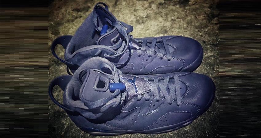 premium selection 37ebe 1ffd3 Detailed Look at Nike Air Jordan 6 Diffused Blue 02