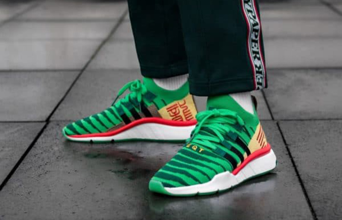Dragon Ball Z adidas EQT Support Mid ADV Shenron Green D97056