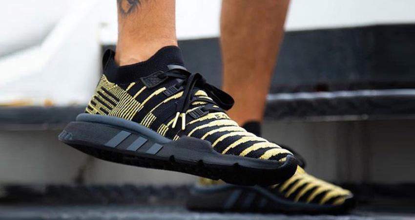 Dragon Ball Z x adidas EQT Shenron Black On Foot Look 01
