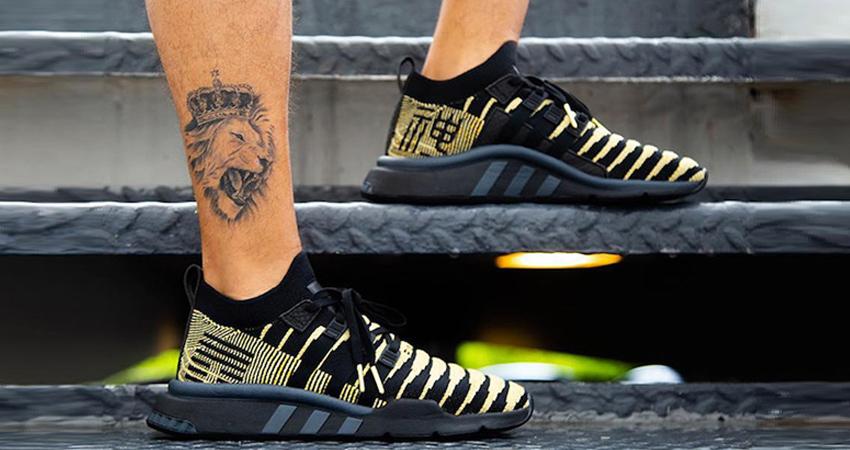 Dragon Ball Z x adidas EQT Shenron Black On Foot Look 03