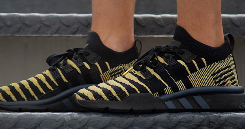 Dragon Ball Z x adidas EQT Shenron Black On Foot Look 04