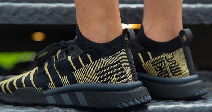 Dragon Ball Z x adidas EQT Shenron Black On Foot Look 06