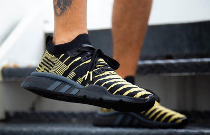Dragon Ball Z x adidas EQT Shenron Black On Foot Look ft
