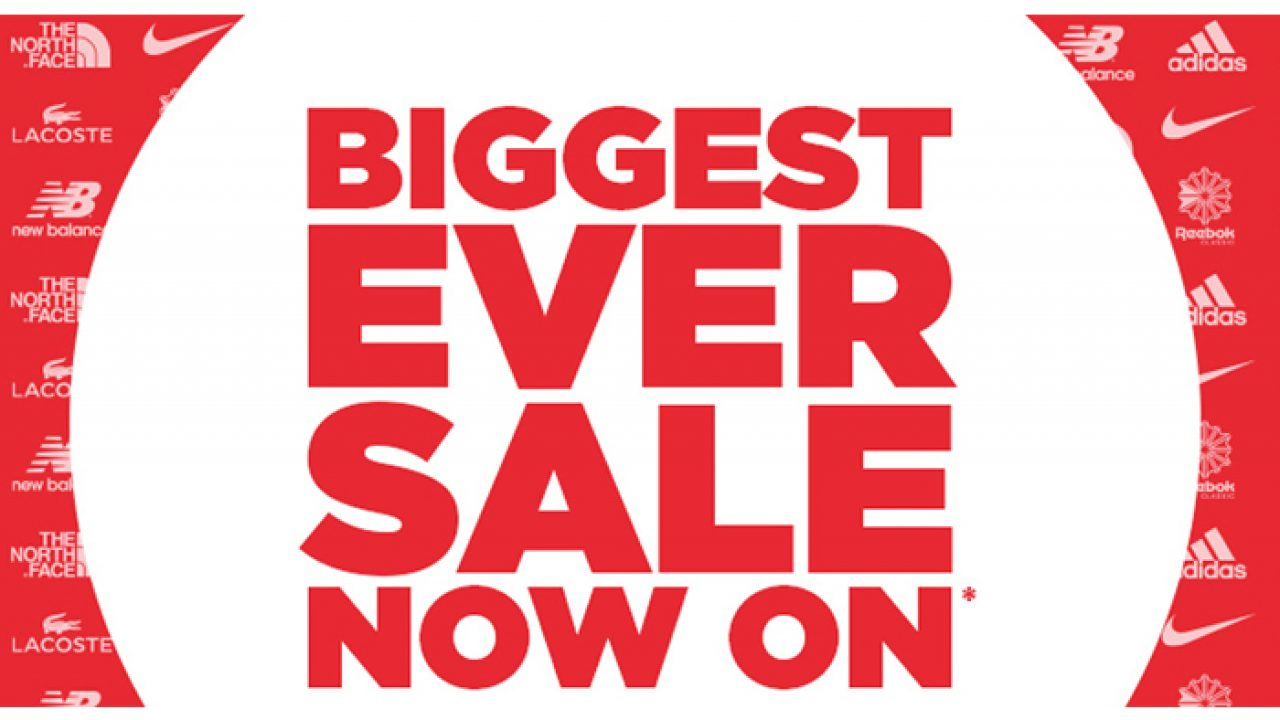 Jd Sports Biggest Sale Ever With Code Pr20 Fastsole