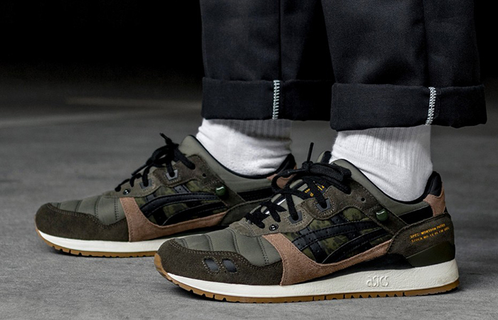 buy online 045f3 4c8d8 Limited Edt SBTG ASICS Gel Lyte III Monsoon Patrol 1191A066-200