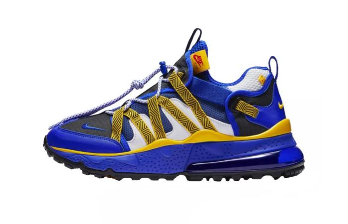 new product d1cde 647e7 Nike Air Max 270 Bowfin Warriors Blue