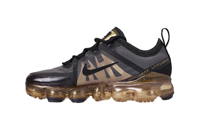 Nike Air VaporMax 2019 Black Gold AR6631-002 01